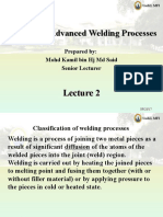 FWB42503 AdvWeldingProc_Classification of Welding Processes_Lecture #2