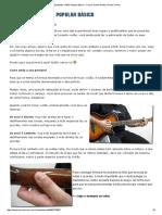 Estudando Violão Popular Básico 1