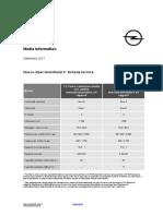 Opel Grandland X, tutti i dati tecnici
