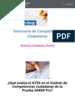 Presentación Seminario Competencias Ciudadanas