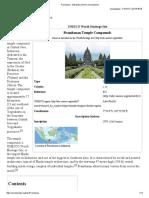 Prambanan - Wikipedia, The Free Encyclopedia