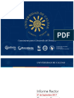 Informe Rector U. de Caldas Consejo Superior – 27 de Septiembre de 2017