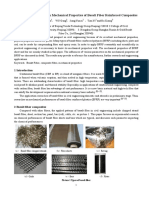 Experimental Research on Mechanical Properties of Basalt Fiber Reinforced Composites