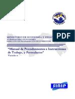 Manual de Procedimientos Instrucciones DeTrabajo