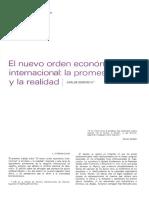 El Nuevo Orden Economico Internacional