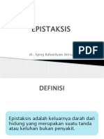 dr Ajeng R - In House Epistaksis
