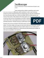 Sound Card Oscilloscope - Make