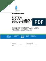 Modul Sistem Manajemen Mutu Konstruksi [TM5].docx