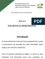 7 Aula - Tolerancia Dimensional