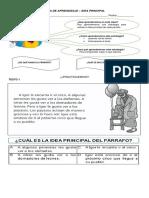 Guía de Aprendizaje Idea Principal (1)