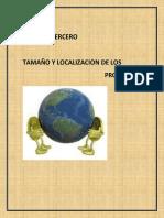 CAPITULO 03 Tamaño y Localización de Los Proyectoss
