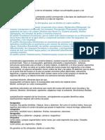 taxonomia artropomorfo