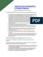 Beneficios Laborales de los Trabajadores de la Micro y Pequeña Empresa.docx
