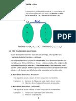 V. ALEATORIA Unidim y Bidimensional