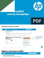 HP SC Como Generar Un Caso de Soporte OnLine