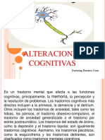Darwing - Alteraciones Cognitivas