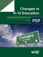 k 12 Changes