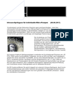 Mikropumpen-Kleinserien dank Inhouse-Spritzguss bei deutschem Pumpen-Produzenten