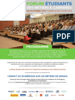 Programme Forum Metiers Guadeloupe 04-10-17