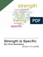 Chris Beardsley - Strength is Specific v2