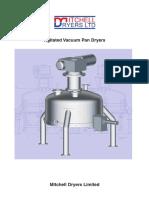 Vacuum Pan Dryer