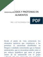 Aminoacidos y Proteinas en Alimentos - Copia