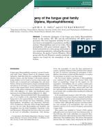 2009 Molecular Phylogeny of Fungus Gnat