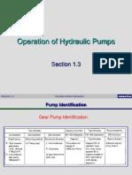 1.3 Hydraulic Pumps