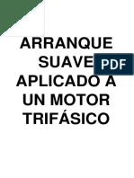 Arranque Suave Aplicado a Un Motor Trifásico
