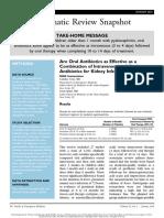 Oral Antibiotic in Uti