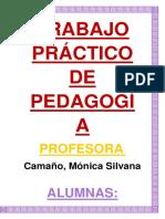 Trabajo Práctico Propuesta Pedagogía Social