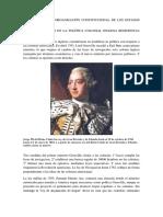 Independencia y Organización Constitucional de Los Estados Unidos 1763.