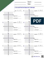 algebra1 func graph intercept1  1