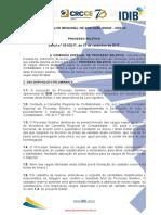 Edital Conselho Regional de Contabilidade