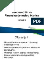 5 Finansiranje biznisa