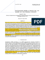 Dislocation Nucleation