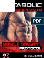 MAS Muscle Density Protocol