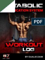 MAS Workout Log