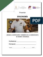 Manual -Ergonomia