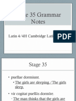 Stage 35 Grammar Powerpoint