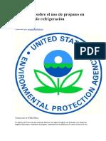 EPA alerta sobre el uso de propano en sistemas de.doc