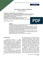Acanthomoeba Keratitis Challenges Case Report