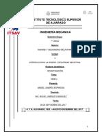 Higiene y Seguridad Industrial Inv Normas Unidad 2