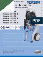 KRANZLE Instructions de Service