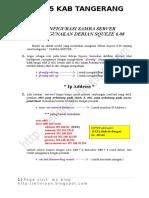 Modul Debian 6 Samba Server