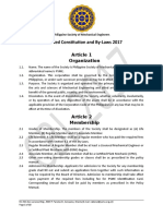 PSME Constitution and Bylaws 2017 Final