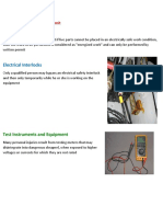 Lesson 5 Energized Electrical Work Permit