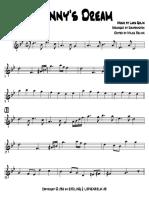 Danny's Dream - Trumpet in Bb