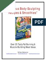 Body Sculpting Recipes