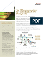 Top 10 Recommends for Plantwide Ethernet-IP - Cisco